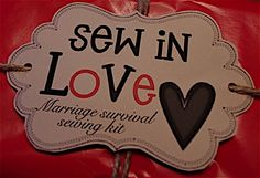 Sew in Love - Marriage Survival Sewing Kit