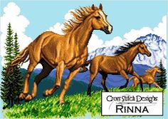 HORSES Cross Stitch Patterns SALE Buy 1 Take di CrossStitchRinna