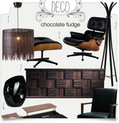 Deco: Chocolate fudge!