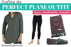 Crafting the Perfect Plane Outfit - #herpackinglist