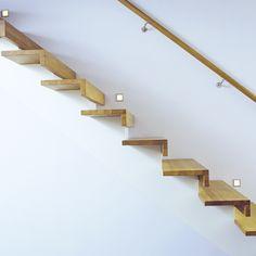 Beam stair built-in