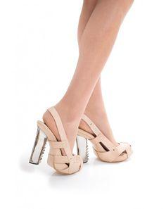"Kobi Levi ""Carpenter"" Slingback Pumps #shoes #heels #artshoes #shoeart"