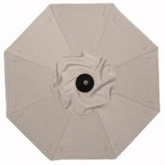 Galtech 7.5-ft. Deluxe Auto Tilt Patio Umbrella Sunbrella Canvas / Grade B - BH727RC-51