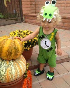 This Tick Tock Croc Halloween Costume is an adorable kids Halloween costume idea!