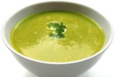 Low Fat Zucchini Pea Soup - New Life Hiking Spa Vermont
