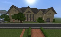 Minecraft masion anybody?. How much would you love to show this off to your friends?.
