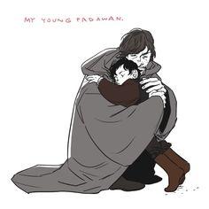 <><> Luke Skywalker and little Ben Solo.<<<-That breaks my heart!