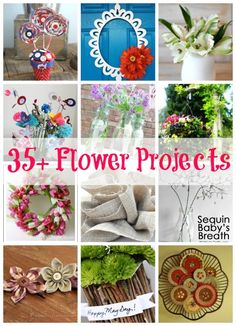 ~ Spring is in Bloom | 45+ Flower Projects