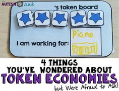 4 Things You've Wondered About Token Economies but were afraid to ask - The Autism Vault