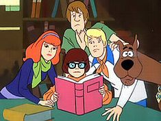 I will always love Scooby-doo! I had my room done in it when I was a kid....Classic!
