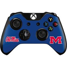 University of Mississippi Xbox One Controller Skin  Ole Miss Vinyl Decal Skin For Your Xbox One Controller -- Learn more by visiting the image link.Note:It is affiliate link to Amazon.