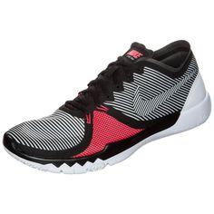 #Nike #Fitnessschuhe #Herren #schwarz / #weiß / #rot