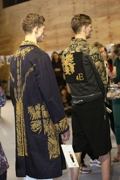 Roberto Cavalli Fashion Show & More Luxury Details