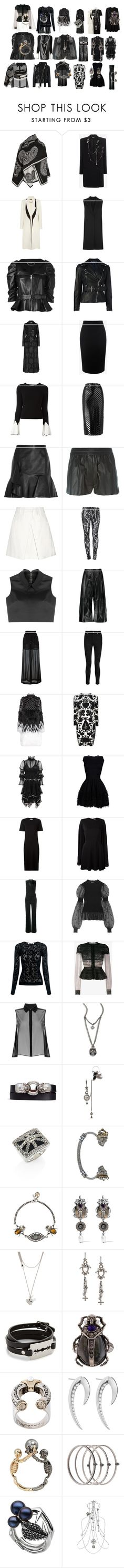 """""""Untitled #4247"""" by luciana-boneca on Polyvore featuring Alexander McQueen, McQ by Alexander McQueen and Shaun Leane"""