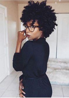 "Type in ""natural hair Ambrosia"" to find her YouTube tutorials"