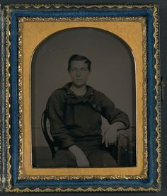 (c. 1861-1865) Sailor in Union uniform