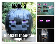 how to make a glowing pumpkin in minecraft