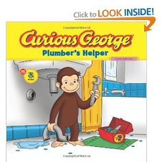 Curious George Plumber's Helper (CGTV 8x8): H. A. Rey: 9780547235899: Amazon.com: Books