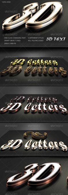 3D Text Generator