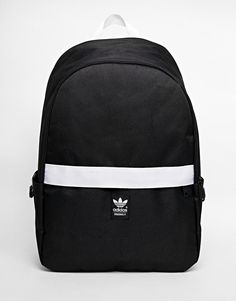 Image 1 of adidas Originals Backpack with Contrast Zip