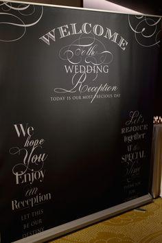 ウェルカムスペース2〜フォトブースと受付〜 |yuka wedding☆palace hotel