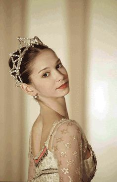 Polina Semionova - she is so pretty. I have considered writing a character that is a ballerina.