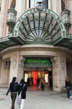 El Corte Ingles on Avinguda Portal de l'Angel, Barcelona, Catalonia, Spain   Гид Барселона ! Отдых Барселона ! Русский гид #Испания #Барселона http://vipgid.wordpress.com/