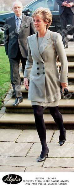 Princess Diana, December 1, 1995, Life Saving Awards, Hyde Park Police Station, London