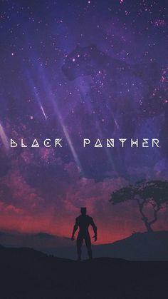 Schwarzer Panther - Avengers & Other - Marvel Black Panther Marvel, Black Panther Art, Marvel Comics, Marvel Fan, Marvel Memes, Poster Marvel, Film Black, Wakanda Marvel, Black Panthers