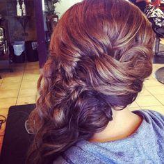 #braid #updo #pretty #love #hair