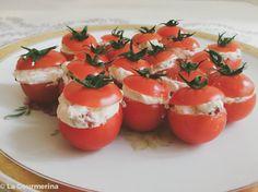 awesome Gefüllte Cherry-Tomaten
