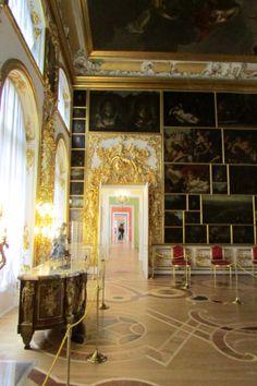Schon Catherineu0027s Rococo Palace Interior  Екатерининский дворец, Tsarskoye Selo  (Pushkin), St.