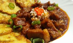 Czech Recipes, Ethnic Recipes, Snack Recipes, Snacks, Kung Pao Chicken, No Cook Meals, Waffles, Pork, Food And Drink