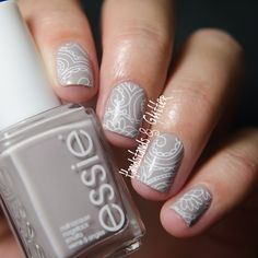 handstands & glitter: [Lieblingsbuntes] Essie - Take it Outside & OPI - Pirouette my Whistle mit Bornpretty Stamping