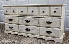 antiqued painted furniture - Google Search