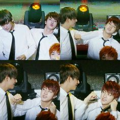 V and Jin ♡