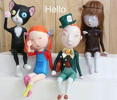 Mini Dolls by Gu M.J, via Flickr