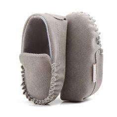 Caliente de LA PU de Cuero de Gamuza Mocasines Soft Moccs Bebé Recién Nacido Niño Niña Bebé Zapatos de Suela Blanda antideslizante Calzado Cuna zapato
