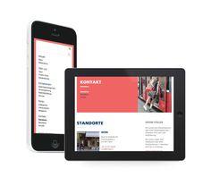 Büro für Mobilität  Responsive/Mobile Website,  Design & Development: fugu GmbH Mobiles, Design Development, Electronics, Website, Phone, How To Make, Pearls, Mobile Phones, Telephone