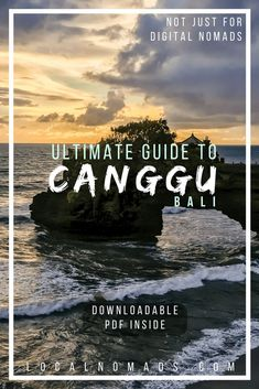 A travel guide for living and working remotely in Canggu, Bali. Not Just for Digital Nomads. Canggu Bali, Digital Nomads, Travel Destinations, Digital Nomad Destinations, Digital Nomad Cities, Travel Beach, Travel Destinations 2018, Affordable Travel Destinations, Southeast Asia, Indonesia, International Travel, Bali Itinerary, Bali Culture, Bali Food, Bali Beaches, Bali Travel, Hoi An, Bali Photography, Bali Digital Nomads