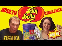 Jelly Belly Bean Boozled Mum and Dad Challenge T&E TV - YouTube