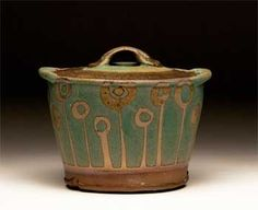 Sarah Dudgeon. Covered pot. Casserole.