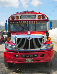 Guatemala Chicken Bus.