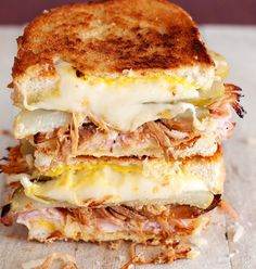 CUBAN GRILLED CHEESE-31 Grilled Cheeses That Are About to Blow Your Mind - Page 23 of 31 - Peek Worthy
