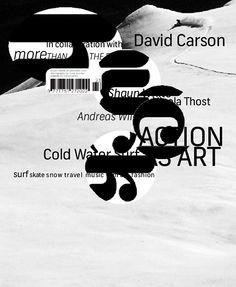 Magazine | david carson   #graphic_design #typography #david_carson