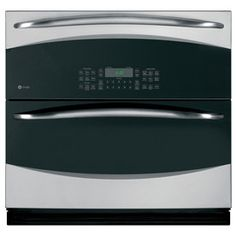 GE Profile Convection Single Electric Wall Oven (Stainless Steel) (Common: 30-in; Actual 29.75-in) Model# PT925SNSS