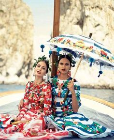 """""""La Canzone Del Mare"""" by Boo George for Vogue Japan October 2014"""