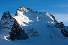 An archive picture shows the Dome and the Barre des Ecrins mountains in the French Alps, near Pelvoux, France, April 27, 2008. Seven climbers were killed and another was injured following an avalanche Tuesday September 15, 2015 in the Hautes-Alpes, the department prefect said. Picture taken April 27, 2008.
