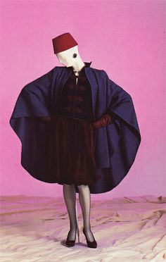 """""""Fancy seeing a fez on a Parisian catwalk? A look from the F/W 1979 collection."""""""