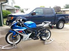 My toys. .. bike all cleaned up!